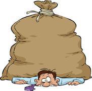 Stock Illustration of crushed