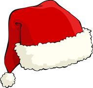 Santa's hat Stock Illustration