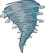 tornado - stock illustration
