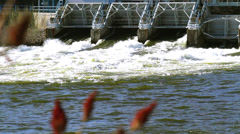 Hydro Dam Fox River - Stat Stock Footage