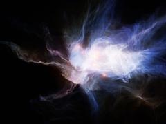 Stock Illustration of Exploding Nebulae