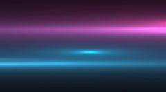 Neon pink and blue/teal moving lens flare background, cgi Stock Footage