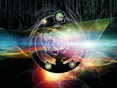 Stock Illustration of Elegance of Digital Processing