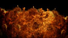 Fire Revealers Stock Footage