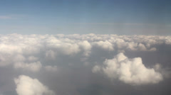 Stock Video Footage of beyond the clouds