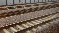The railway and ground construction in China Stock Footage