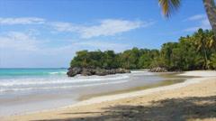 Playa bonita Stock Footage