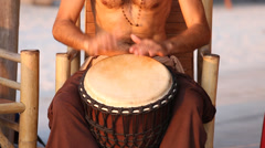 Drums hands, movement, rhythm - stock footage