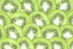 Kiwi closeup crop Stock Photos