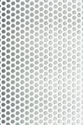Perforated metal grid texture - stock photo