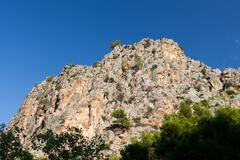 serra de tramuntana - mountains on mallorca, spain - stock photo