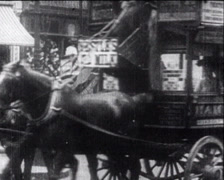 Chronicle of the first cars Stock Footage