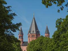 Mainz Cathedral - stock photo