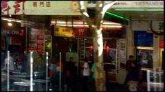 Traffic in Melbourne CBD Australia Stock Footage