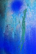 Abstract blue background surface of splashed color Stock Photos