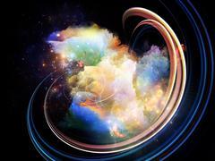 Advance of Design Nebulae Stock Illustration