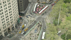 New York City Madison Square Traffic Timelapse 1 Stock Footage