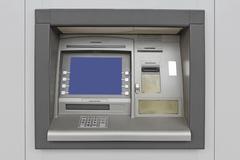 automatic teller machine - stock photo