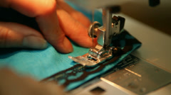 Sewing typewriter Stock Footage