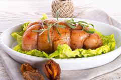 full chicken's breast - stock photo