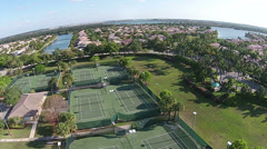 Recreational park in Florida Stock Footage