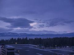 Lake Tahoe Sunset Stock Footage