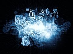 Numeric Geometry Stock Illustration