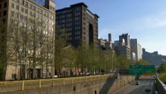 4K Pittsburgh City Skyline 4310 Stock Footage