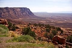 northern arizona navajo reservation lands. scenic arizona raw landscape. cany - stock photo