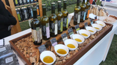 Winery Festival in Israel Stock Footage