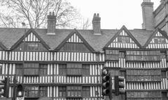 Stock Photo of Tudor building