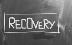 Stock Illustration of recovery concept
