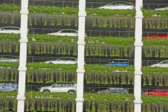 Multi-storey car parking garage, bandar seri begawan, brunei Stock Photos