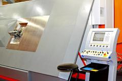 armature iron machine - stock photo
