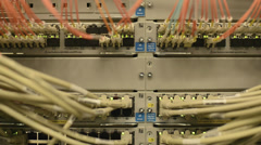 Network Switch Stock Footage