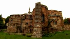 Kariye Museum, Chora Church in Istanbul Stock Footage