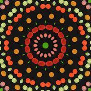 Kaleidoscope background Stock Photos