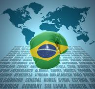 Stock Illustration of brazilian fist