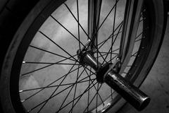 BMX Pyörän ja Peg Kuvituskuvat