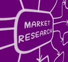 Stock Illustration of market research diagram shows researching consumer demand and preferences