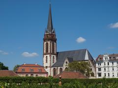 Stock Photo of St Elizabeth church in Darmstadt
