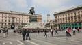 Milan: Piazza del Duomo Footage