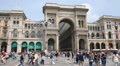 Milan: Galleria Vittorio Emanuele II Footage