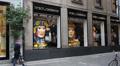 Milan: Dolce & Gabbana shop Footage