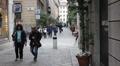 Milan: Via dela Spiga Footage