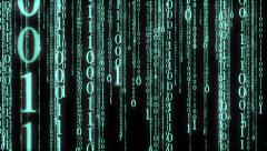 Matrix Numbers - stock footage