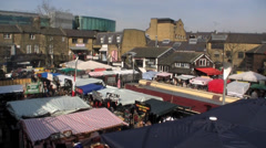 Camden Lock, London, UK Stock Footage