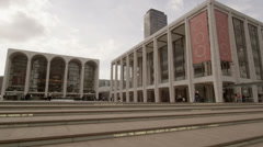 Lincoln Center in New York City Stock Footage
