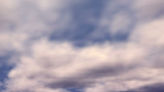 Clouds Passing Stock Footage