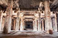 Stock Photo of inside hindu temple